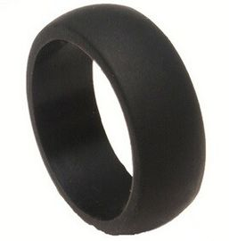 Chine Men'S Black Custom Silicone Wedding Rings Medical Grade Or Food Grade fournisseur