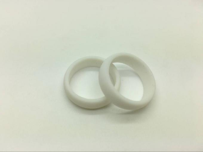 His And Hers Custom Silicone Wedding Rings , Durable Rubber Thumb Rings
